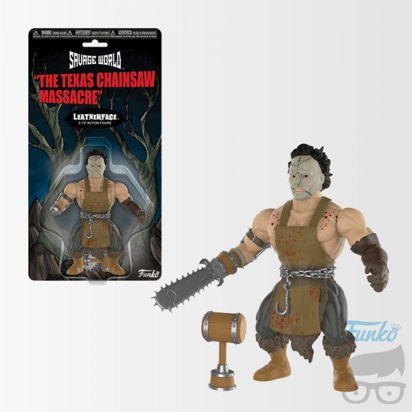 The Texas Chainsaw Massacre Leatherface Savage World Action Figure
