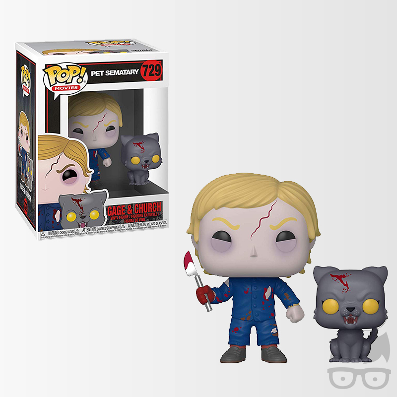 Gage and Church 729 Games Geeks Funko Pop