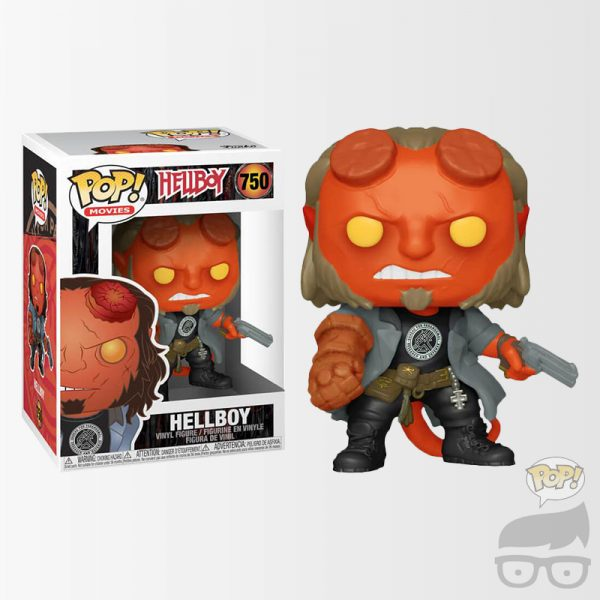 Hellboy Movie Hellboy with BPRD T-Shirt Pop! Vinyl Figure Games Geeks